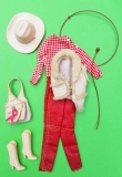 Barbie outfit 1983 Horse Lovin doll,