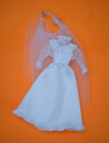 Barbie outfit 1983 Superstar Bride doll European Exclusive