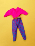 Barbie outfit 1984 #7904 with belt