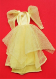 Barbie outfit 1985 #2189 Dream Glow, yellow dress
