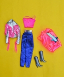 Barbie outfit 1985 Rock Stars fashions #3393