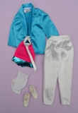 Barbie outfit 1985 Ken outfit rockers fashions #2691