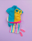 Skipper outfit 1987  #4538 Bright n Breezy Fashions,