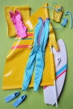 Barbie outfit 1984 Water Sports Fashion Playset
