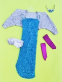 Barbie outfit 1987 Jewel Secrets Princess Laura outfit, some playwear