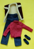 Ken outfit 1984 #4887 Double Vested, Twice as Nice, complete, excellent