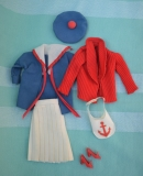 Barbie outfit 1976 #9420 Segel Regatta,