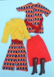 Barbie outfit 1976 #9424 Chic in Hosen 1