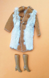 Barbie outfit 1974 #7977 Pelliccia