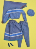 Barbie outfit 1983 #7201 Haute Couture European exclusive. complete, as new condition