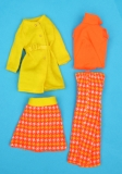 Barbie outfit 1974 European-Exclusive-8197-Dressed-warm-or-Prime-Pioggie