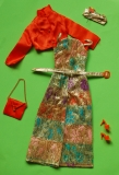 SOLD Barbie outfit 1974 European Exclusive Party Elegante, complete, new