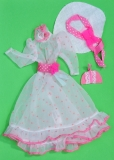 SOLD Barbie outfit 1983 7209 Haute Couture European, no underskirt