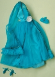 SOLD Barbie outfit 1977 #9471 European exclusive, small stain in dress, not captured by camera