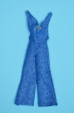 Barbie outfit 1978 #2253 Dramatic Blue and Silver a Glitter, Fashion Originals, European exclusive