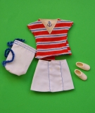 Barbie outfit 1984 Sea Lovin Maritim doll, complete, excellent, European exclusive