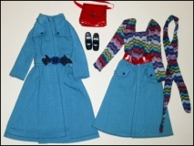 SOLD Barbie outfit 1975 #7178 Modern Combination MOC European excl