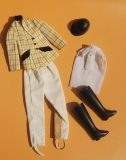 Barbie outfit 1976 9423 european exclusive riding outfit