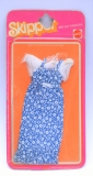 Skipper outfit 1976 #9123 blue calico dress NRFP