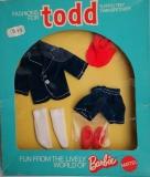 Todd outfit  1976 #7986 blue velvet suit