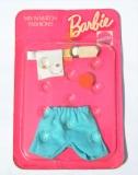 Barbie outfit 1974 #8180 Mix n Match European exclusive, blue shorts (1)