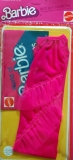 barbie outfit 1978 2223 best buy pink dress MOC, package has wear