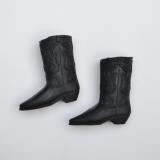 Ken shoes cowboy boots black