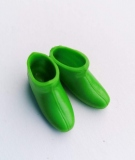 Barbie shoes boots ankle green
