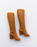 Barbie shoes boots laceup brown korea