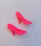 Barbie shoes skinny pumps hot pink Rock Stars