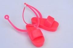 Barbie shoes sandals hot pink