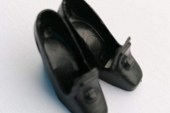 Barbie shoes pilgrims (japan) black