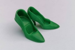 Barbie shoes CT heels japan green