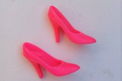 Barbie shoes skinny pumps hot pink Rock Stars