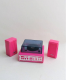 Barbie 1988 Action Accents windup Stereo Set