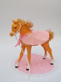 Barbie animal horse 2 Dream Horse Dixie, with some dents, not mint