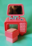Barbie furniture 1983 Dream Furniture Vanity and Chair