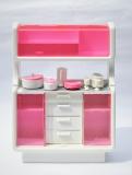 Barbie furniture 1983 Dream Furniture Dining Room 2
