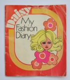Daisy quant accessories booklet My Fashion Diary, intact, some wear