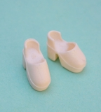 Daisy quant shoes clogs ivory