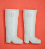 Daisy shoes boots white