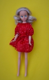 Daisy doll straight leg in Dotty dress