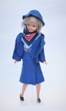 Daisy mold airline stewardess KLM, as new