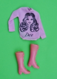 Disco Girls outfit doll Dee