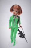 Daisy doll Z Havoc doll in green swimsuit