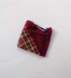Fleur acc outfit #1262 aubergine variation, purse