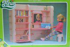 Fleur playset furniture pink 2