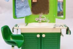 Fleur playset furniture Hair Styling Salon