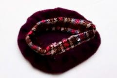 Fleur acc outfit #1262 aubergine variation, hat