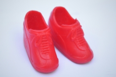 Fleur shoes Z red trainers